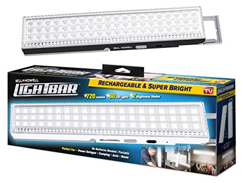 Light Bar By Bell Howell 60 Led 16 5 Rechargeable